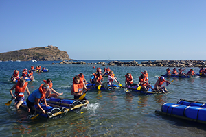 Raft Building & Race